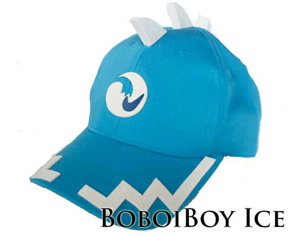 Topi Anak Boboiboy Kuasa Ice