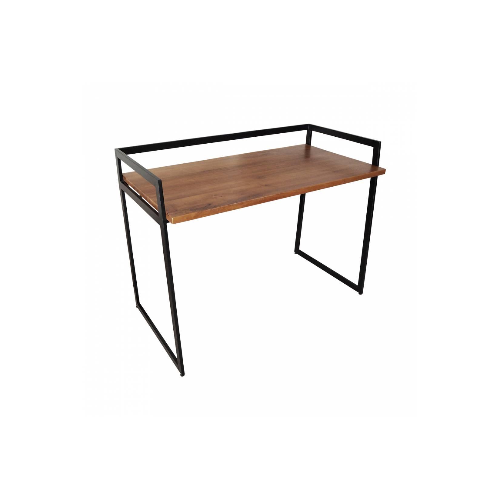Refule|meja kerja jati unik kantor rumah desk working table industrial