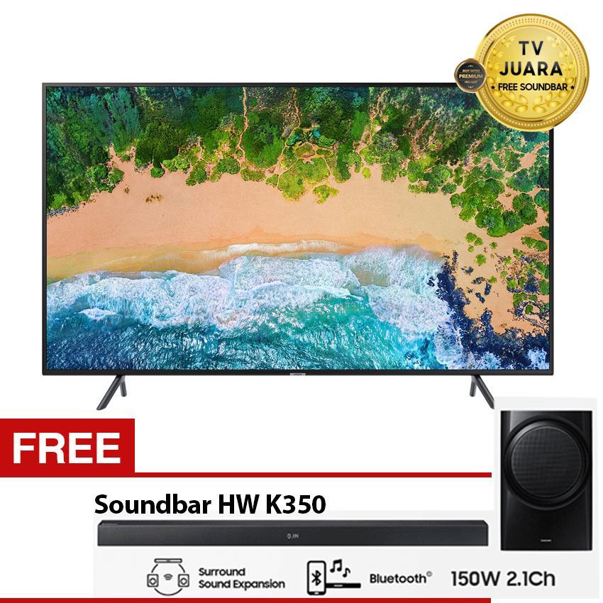 Samsung 43 inch NU7100 UHD 4K Smart Slim TV (2018) Soundbar HW-K350