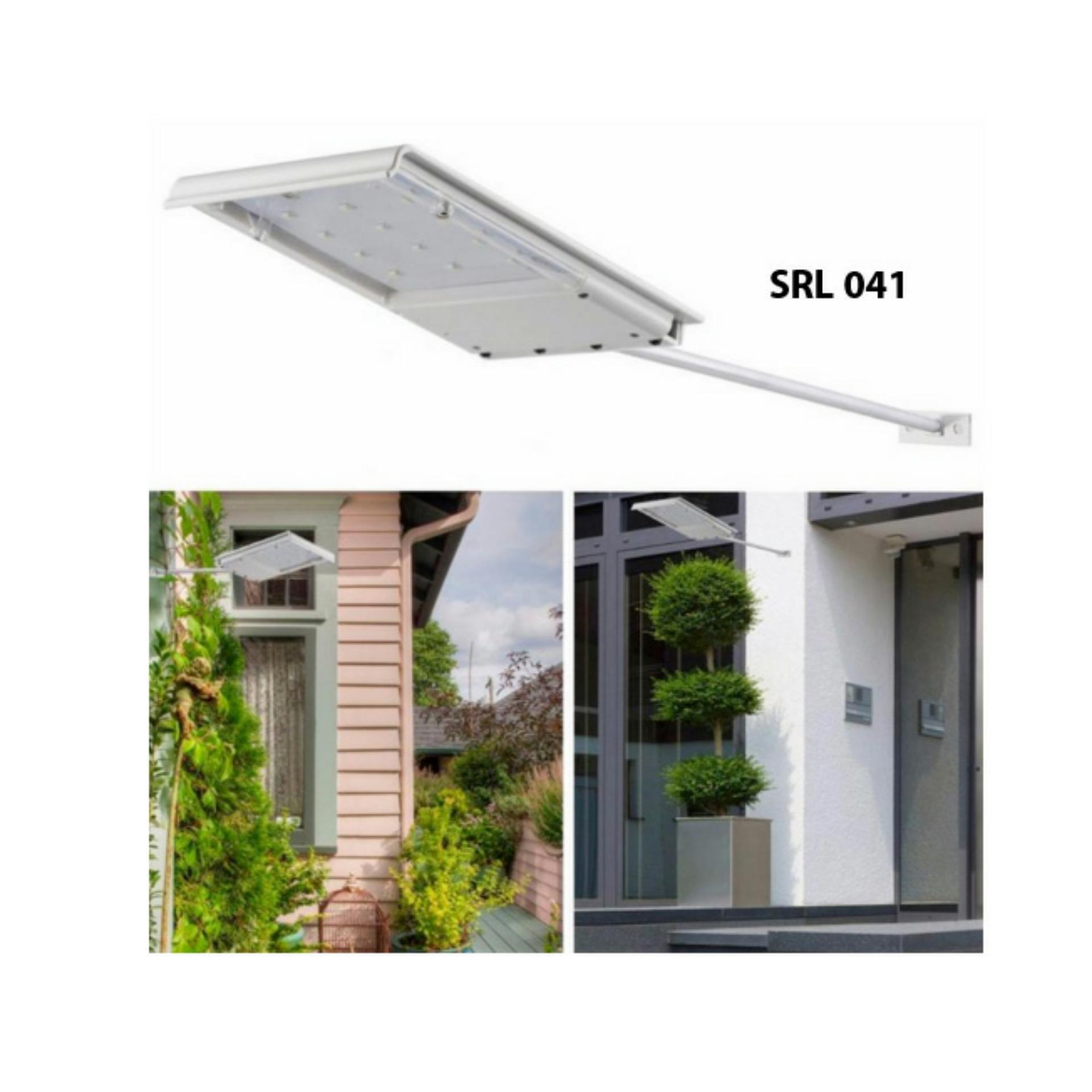 Lampu PJU Mini Solar Cell Tenaga Surya 5Watt 24LED