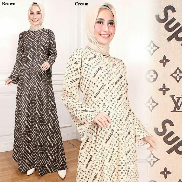 Vshop91jkt - Maxi Supreme LV Maxi Polos gamis Polos Gamis Muslim Pakaian Muslim Baju Muslim Najwa Hijab Setelan Muslim Baju Setelan Muslim Pakaian Anak Muslim Syari Wanita Syari Dewasa Jumpsuit Muslim Dress Muslim Syari Anak Tunik Maxi India