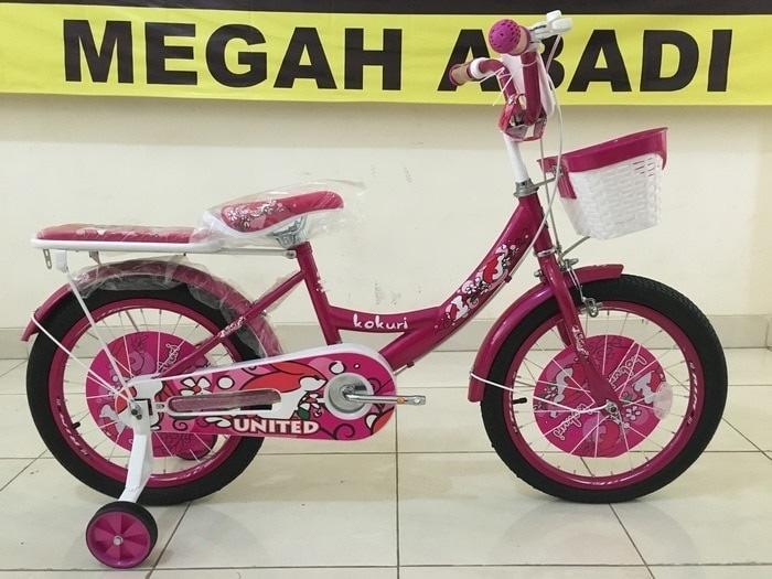 sepeda anak mini 16 United Kokuri - HCKahF