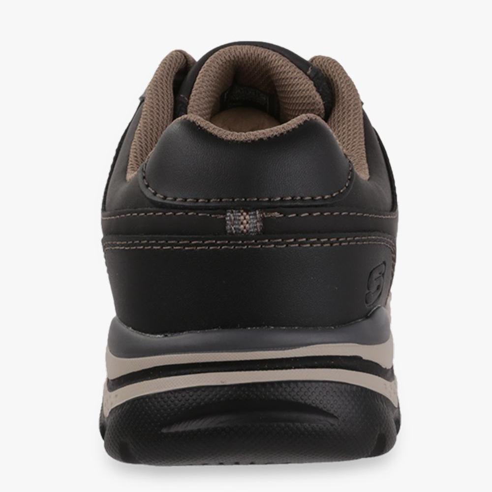 ... Skecher Relaxed Fit  Rovato - Texon Men s Leisure Shoes - Hitam - 4 8068560aca