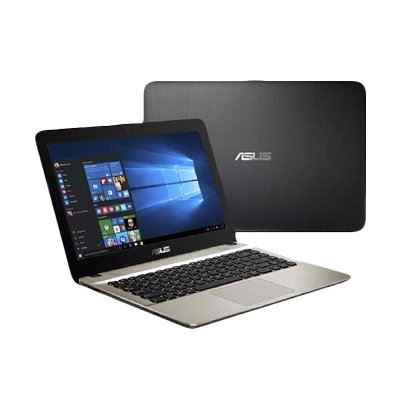 Asus X441NA-PQ401 Notebook - Black [14 Inch/Pentium Quad Core N4200/4GB/500GB/Endless]