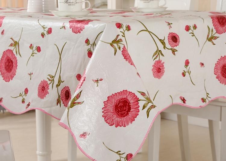 Detail Gambar Taplak meja motif bunga Terbaru