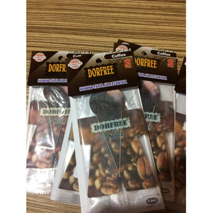 PARFUM KOPI DORFREE PAPER HANGING BEST SELLER HANGING COFFEE DORFREE