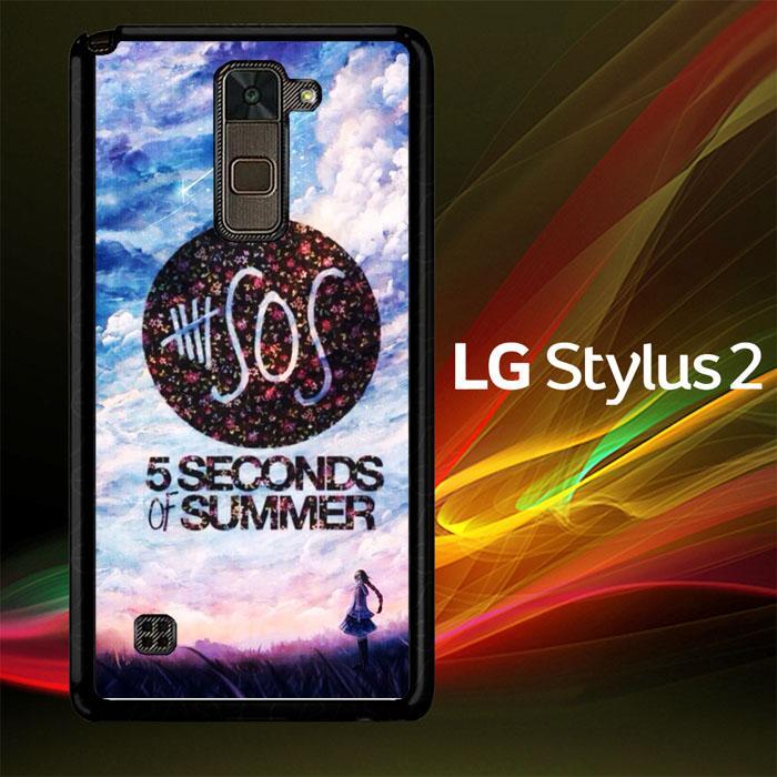 5 Second of Summer Logo O3424 LG Stylus 2