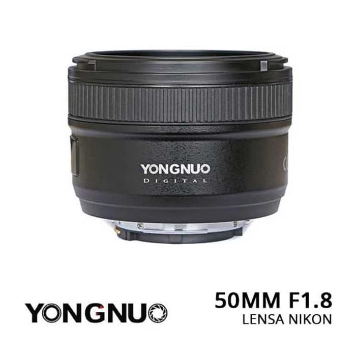 Lensa Yongnuo YN 50mm F18 N Lens For Nikon