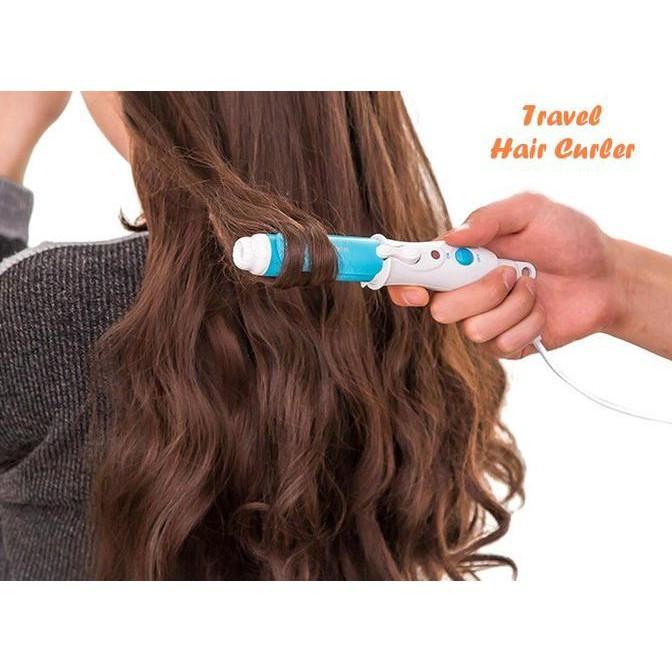 Travel Hair Curler (Catokan Mini- Mudah Dibawa Berpergian- Ada On Off) Murah