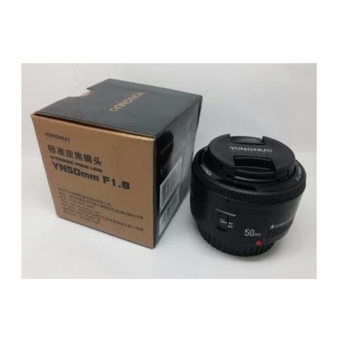 Terbaik Seller Lensa Yongnuo 50 Mm F1.8 Fix Lensa untuk Canon AF-S Otomatis Fokus