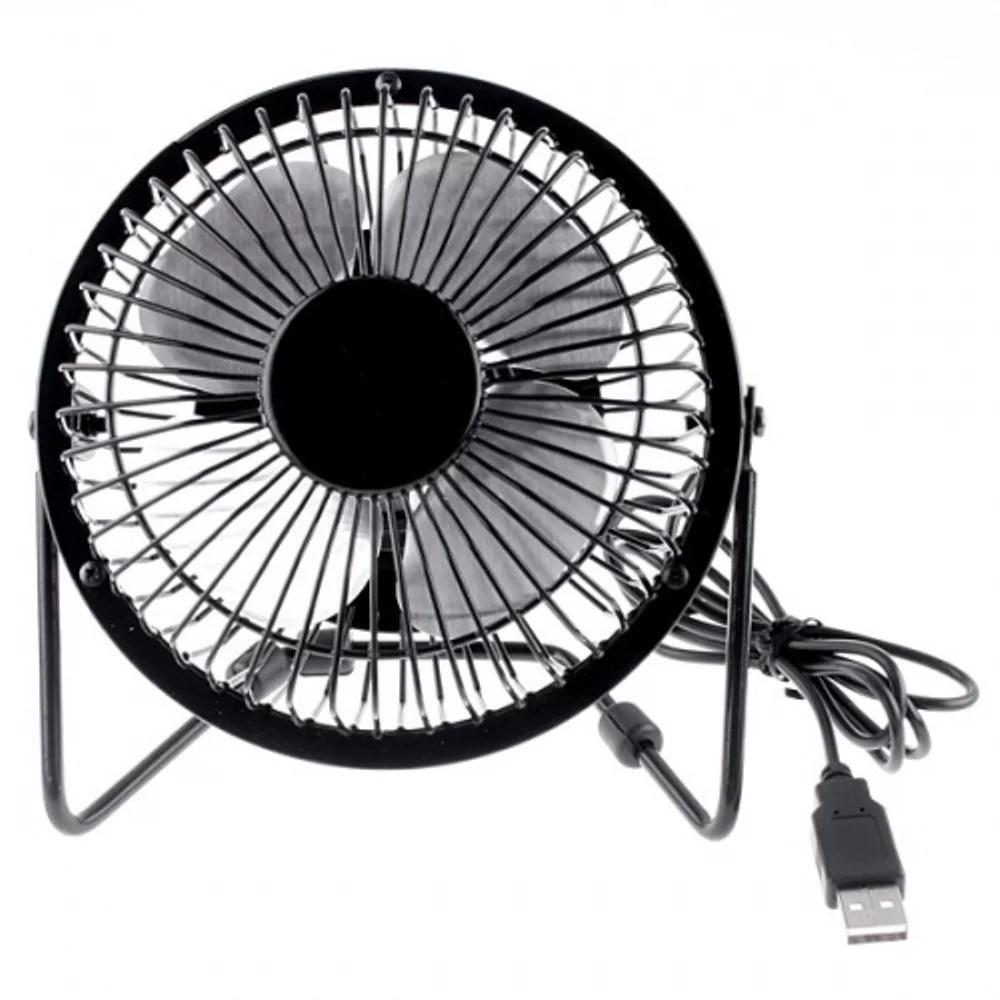 Kipas Mini Fan USB Fleco 4 Baling Baling