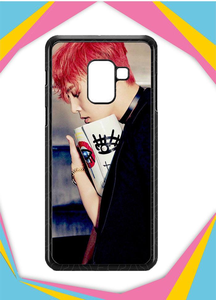 Casing Samsung Galaxy A8 Plus 2018 Custom Hardcase BIGBANG G-Dragon wallpapers G0449 Case Cover
