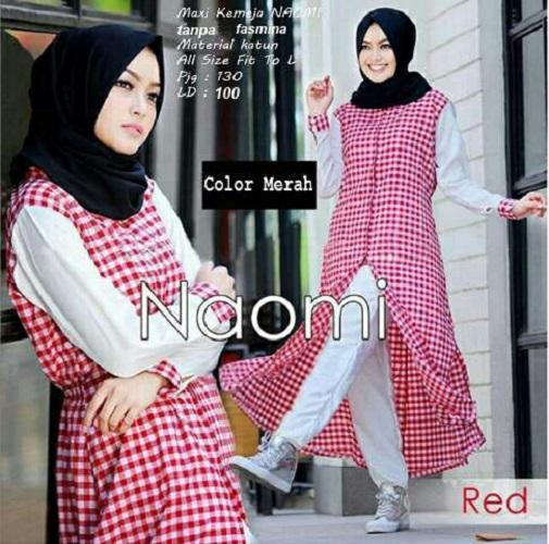 Tunik Wanita Kotak Modis / Baju Wanita / Blouse Korea / Atasan Wanita / Baju Formal / Kemeja Wanita / Kemeja Formal / Atasan Muslim / Kemeja Cewek Tunik / Dress Muslim / Gamis Wanita / Baju Muslim / Hijab Muslim / Fashion Muslim / Syar'i Muslim / Monslisa