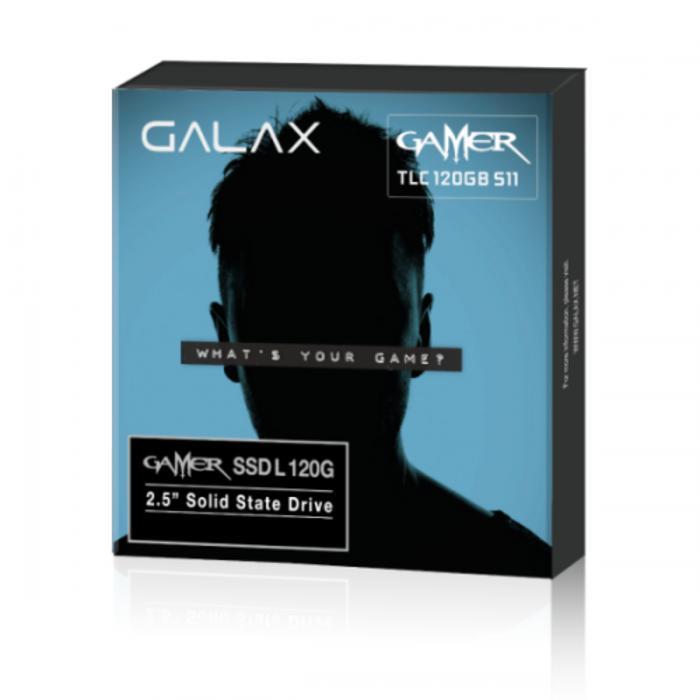 ORIGINAL - Galax SSD Gamer L Series 120GB