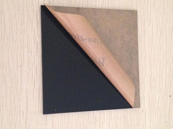 Acrylic Sheet / Akrilik Lembaran 3 mm 20 x 30 cm hitam