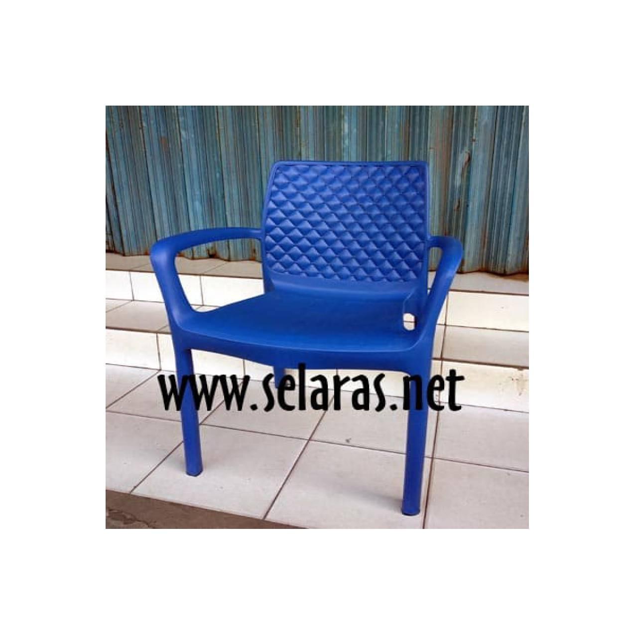 Kursi teras/ kursi taman/ kursi cafe plastik Olymplast 501s Biru