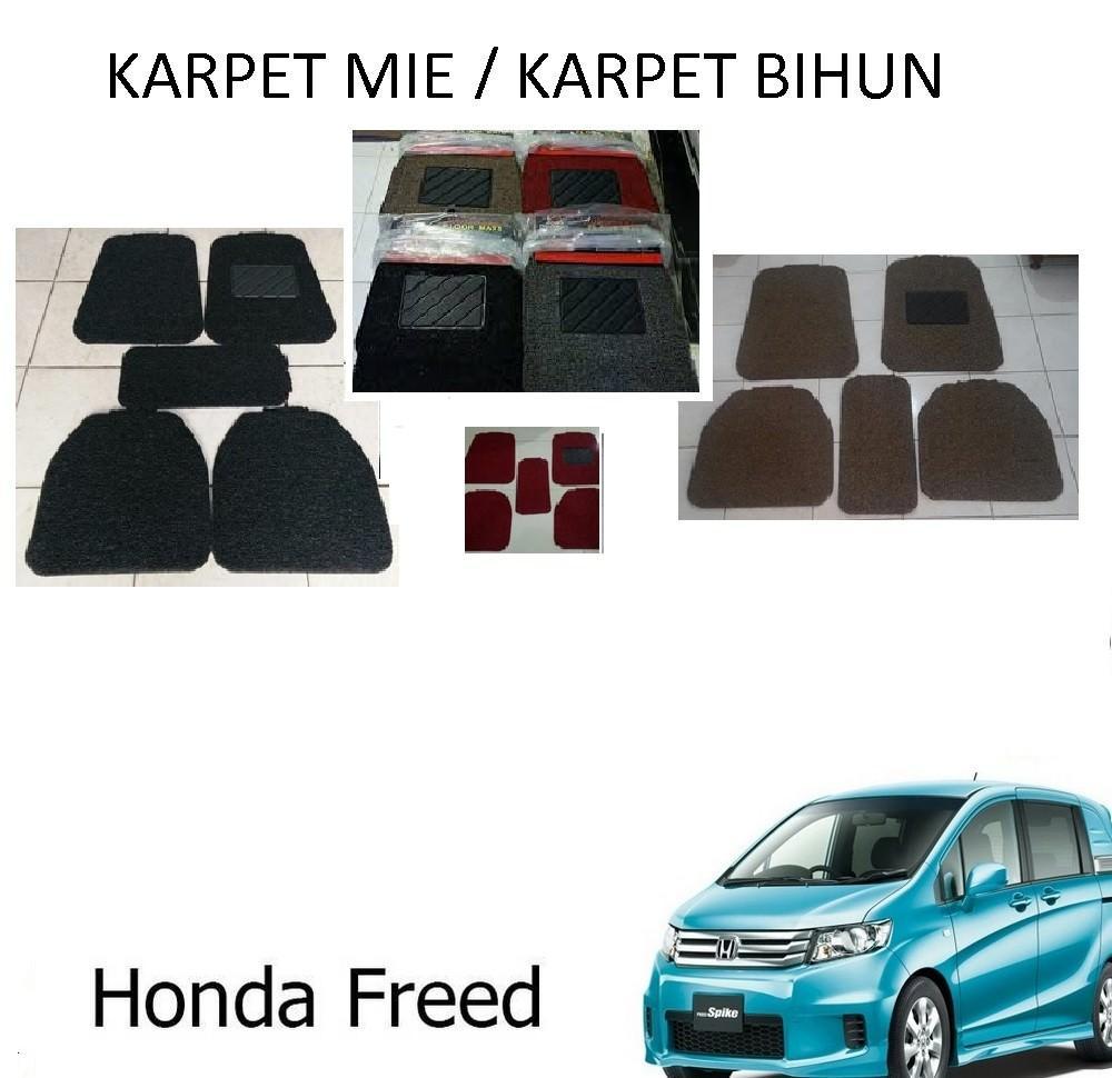 Honda Freed Karpet Mobil Comfort Premium 20mm Car Mat Full Set Nissan Elgrand Deluxe 12mm Carpet Floor Mats Universal Model Mie Keriting