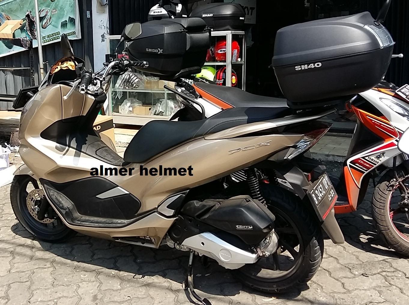 Cek Harga Baru Shad Sh 40 Paket Box Motor Honda Pcx Terkini Situs