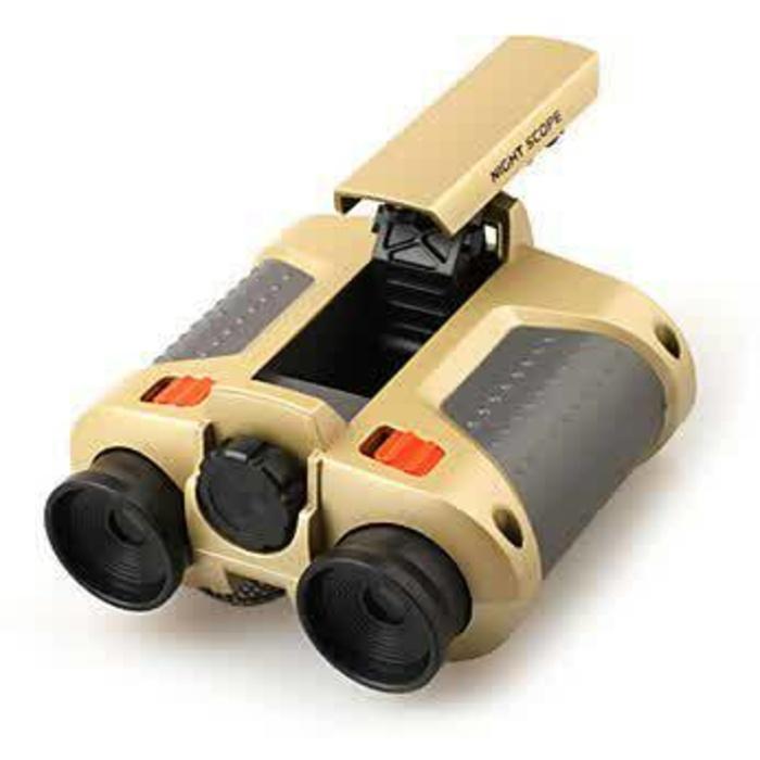 Teropong Malam - Night Scope 4 x 30mm Binoculars with Pop-Up Light - 4F1S5u