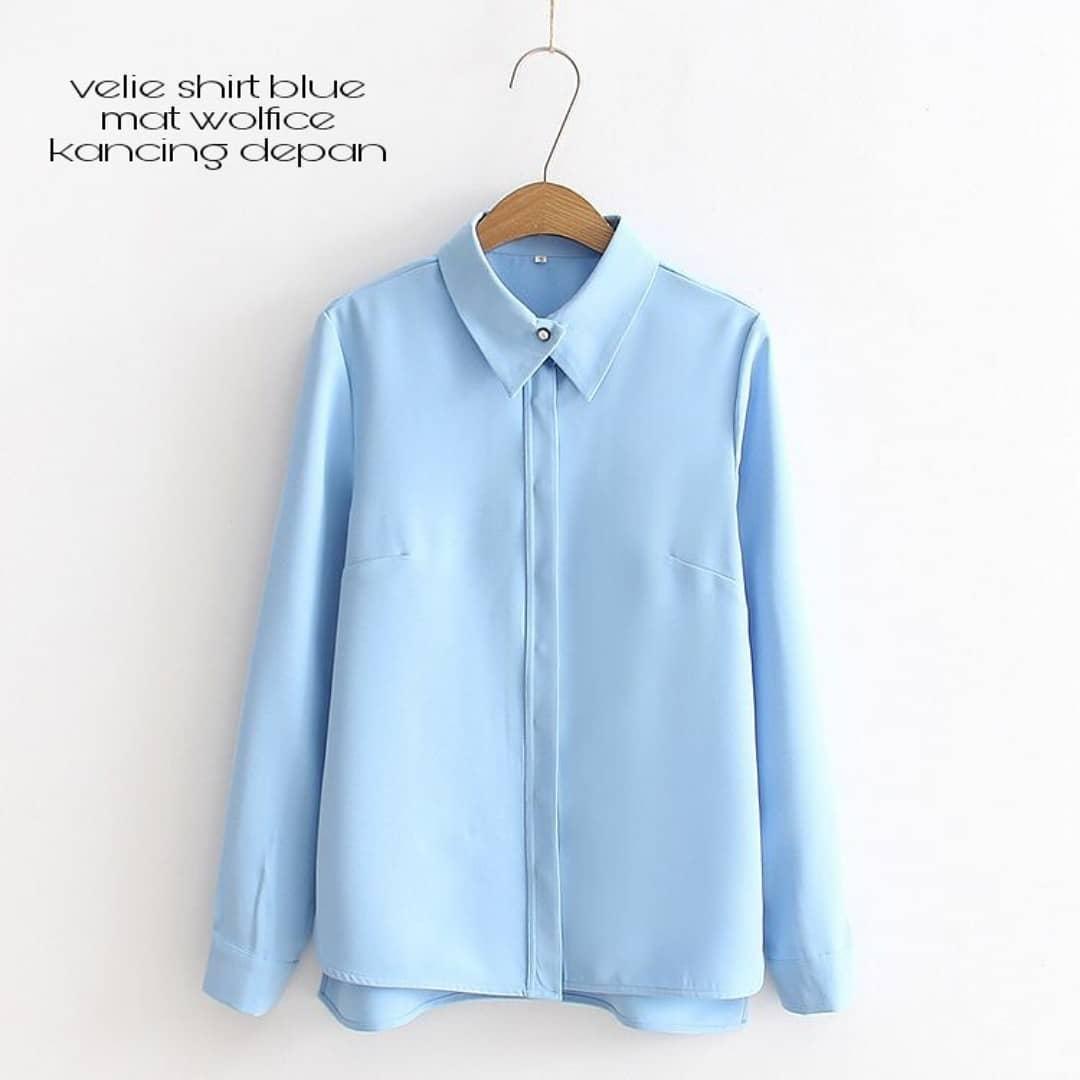 Baju Original SF VALIE Blouse Atasan Blus Modern Baju Tunik Termurah Modern Panjang Hijab Fashion Perempuan Casual Pakaian Wanita Terbaru Tahun 2018