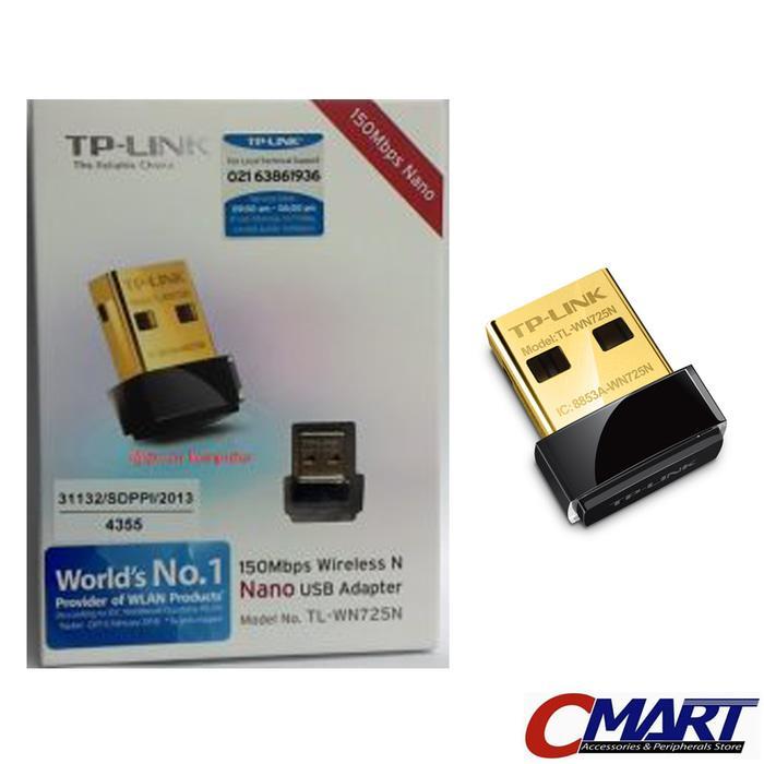 TP-LINK TL-WN725N : TPLink 150Mbps WiFi Wireless N Nano USB Adapter