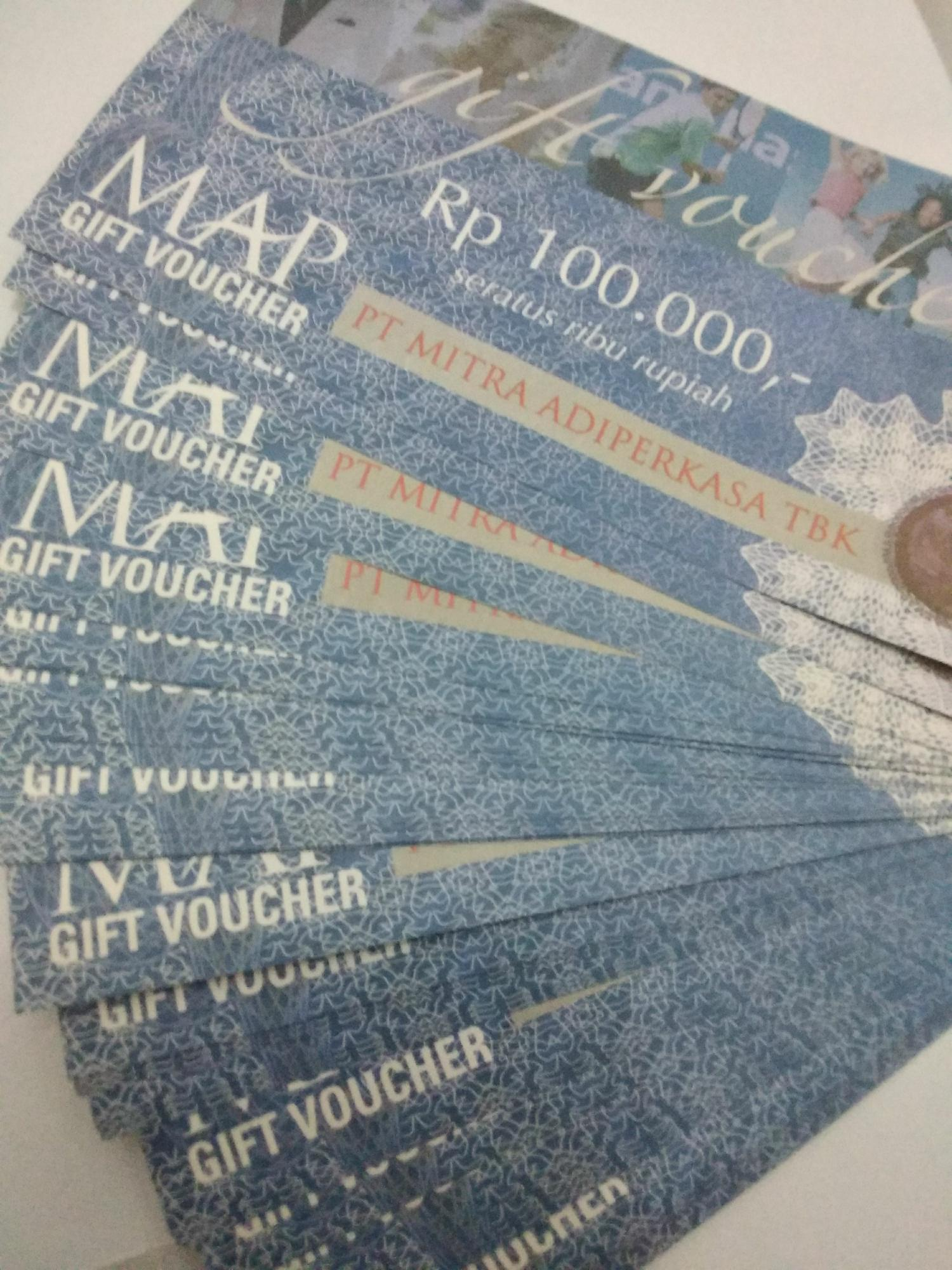 Voucher Map Rp 100.000 By Buy And Buy.
