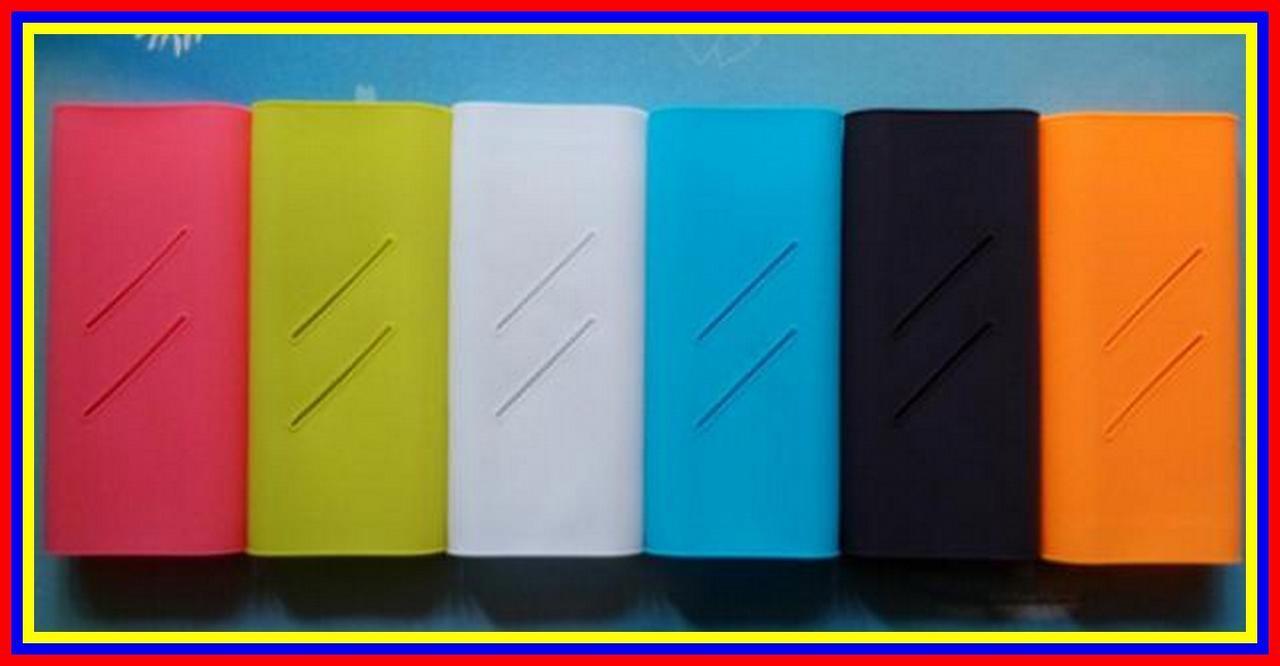 Cek Harga Baru Silicon Silicone Silikon Case Karet Cover Xiaomi Powerbank 10000 Mah Biru Free Power Bank 16000 4
