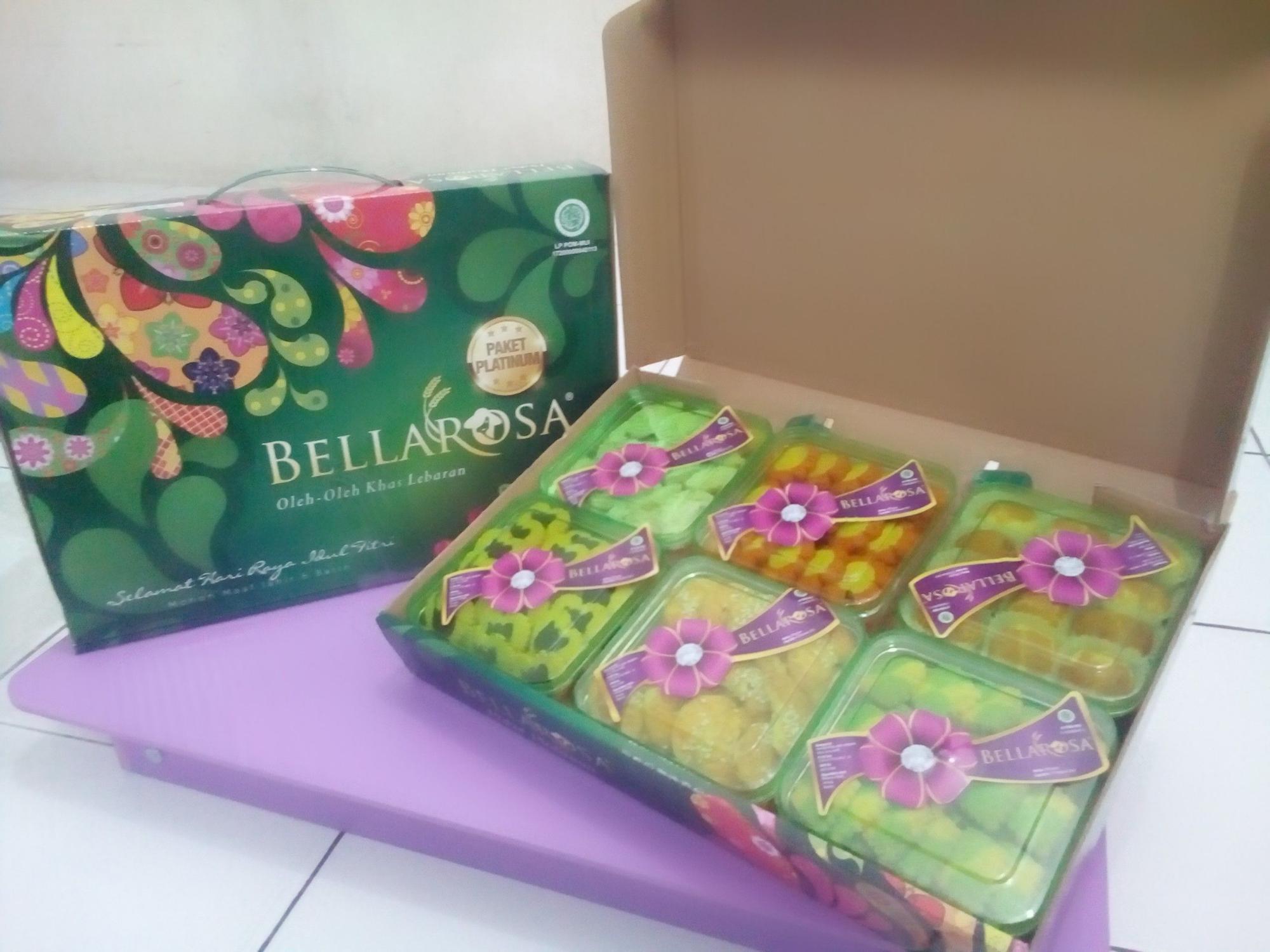Kue Kering Lebaran Bellarosa Platinum Hitam Daftar Harga Barang 6in1 Paket Berkah Belarosa Cemilan Idul Fitri Hantaran