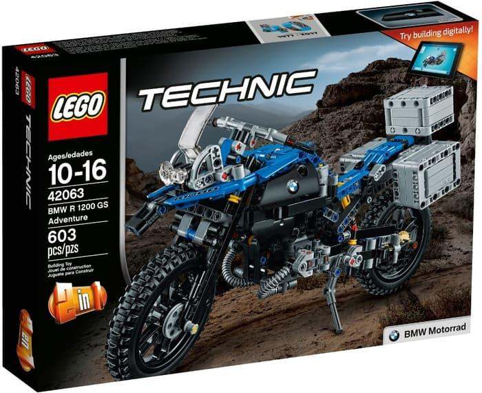 BEST SELLER!!! Lego Technic 42063 BMW R 1200 GS Adventure - BS5aDT