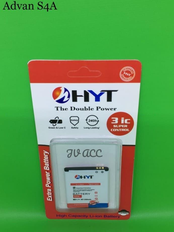 BATTERY BATERAI BATRE HYT DOUBLE POWER ADVAN S4A DOUBLE IC PROTECTION