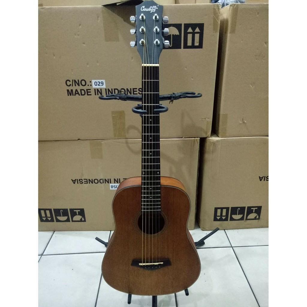 Gitar Akustik Cowboy Ukuran 3 Per 4 Original Jakarta Murah Garansi