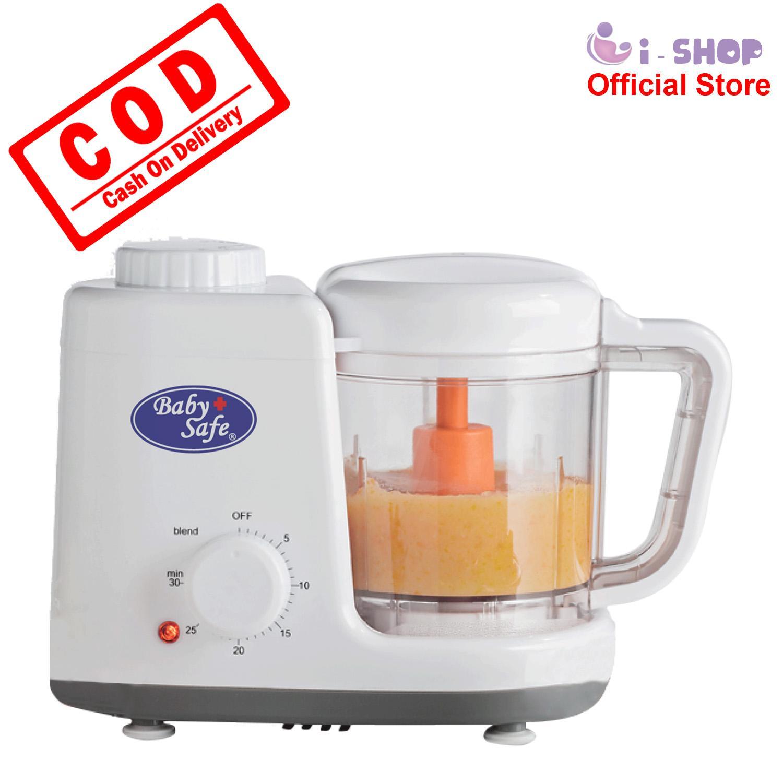 i-shop Baby Safe Baby Food Maker LB003 / Blender Makanan Bayi / Steamer Makanan Bayi / Alat Masak Makanan Bayi / Perlengkapan MPASI