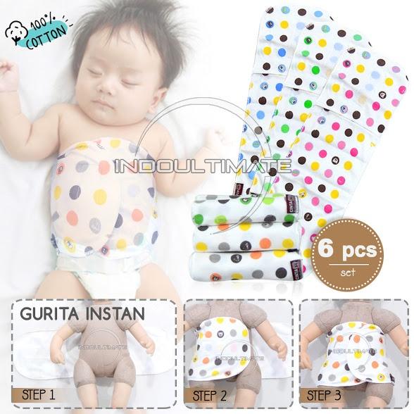 Spesifikasi dari 6 PCS GURITA BAYI REKAT INSTAN / Grito Bayi Praktis Lembut GR-02