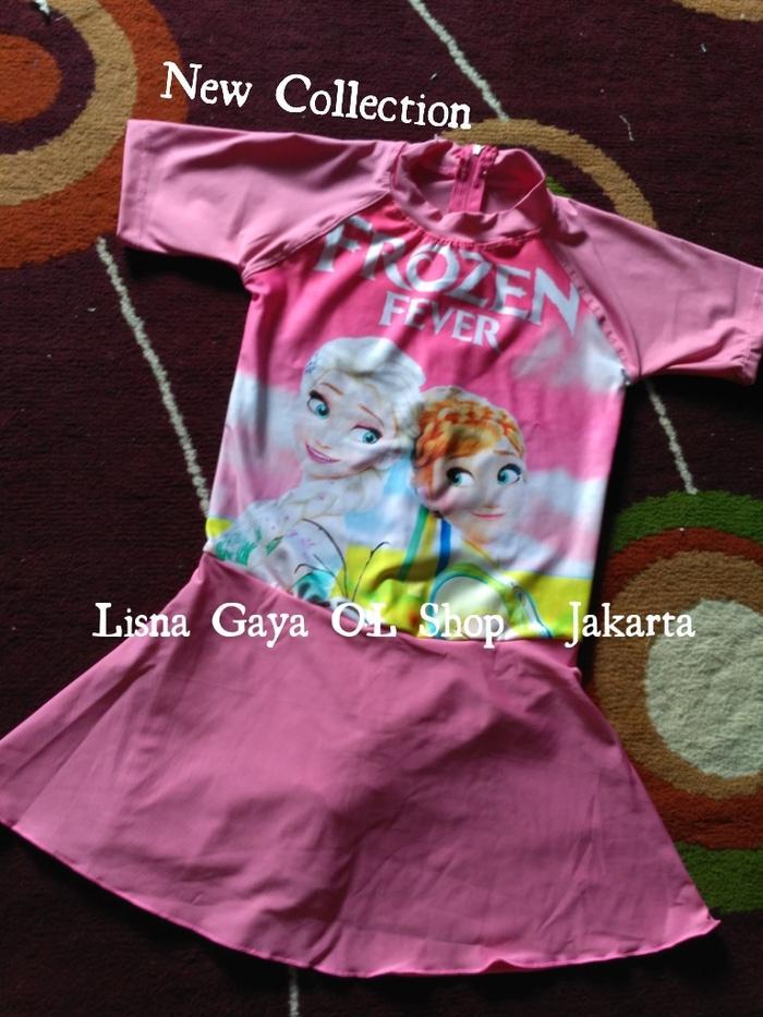 Baju Renang Anak SD 8-10/ Baju Renang Frozen, Princess dll - IpbYNq