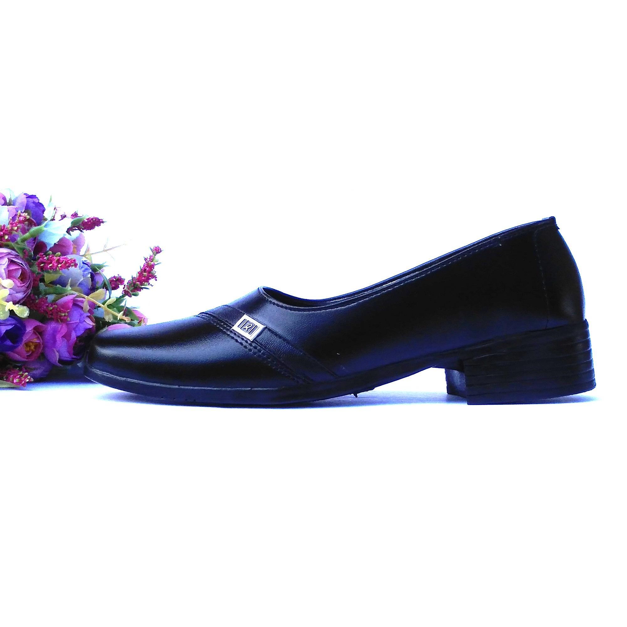 Detail Gambar HQo Sepatu Pantofel Wanita Sepatu Wanita Formal Sepatu  Pantofel Paskibra Wanita Bertali Sepatu Kerja 5b2b543bdb