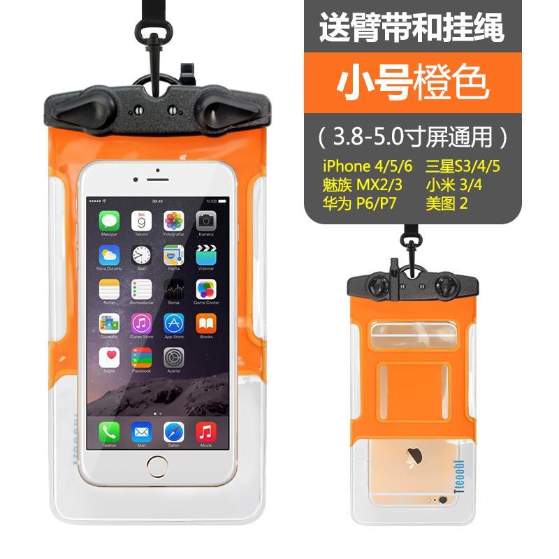 Tas Waterproof Handphone Handphone Tas Kamera Bawah Air Layar Sentuh