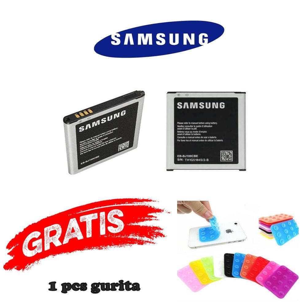 Baterai/ Batre/ Battery Samsung J1 / J100 2015 Original FREE gurita
