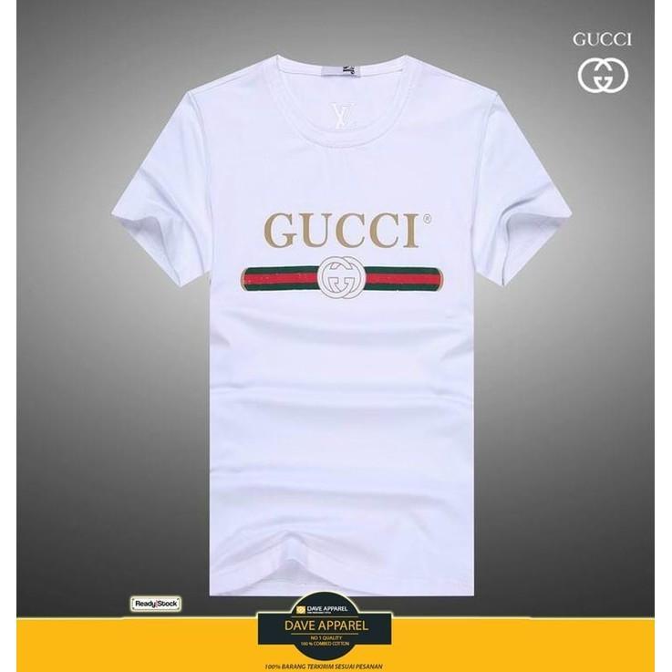 Tshirt/Kaos Gucci Terlaris - Qwmvg8