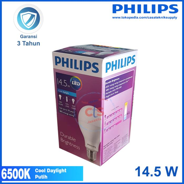 Lampu LED Philips 14,5W 14,5 W 14,5 Watt 14,5Watt Putih