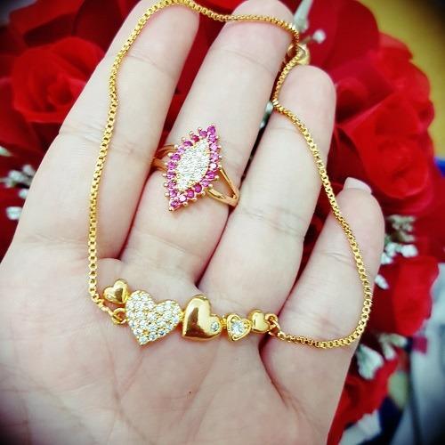 gelang cincin lupis love xuping gold