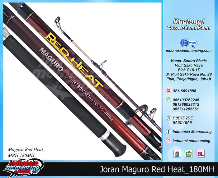 Joran Laut MAGURO RED HEAT Panjang 180MH - I5o2UO