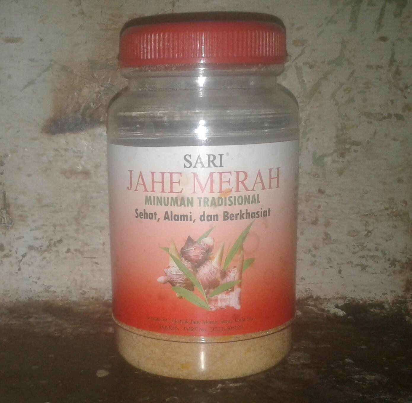 Zein Jahe Merah Toples 330gr Paket 3 Botol Daftar Harga Terlengkap Khonnur Sari