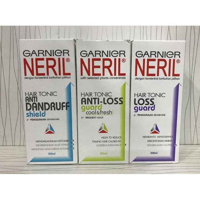 Garnier Neril Hair Tonic Anti Dandruff 200 Ml Beli Harga Murah Source · Hair  Tonic Neril Murah 99af5b98fb