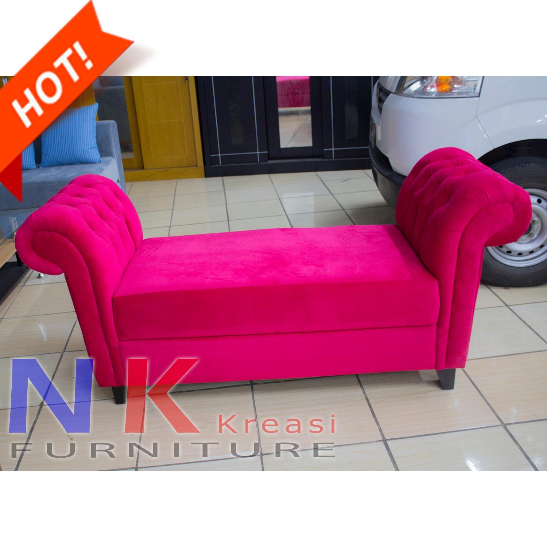 Sofa Bens Klasik, Bench 2 dudukan, sofa santai - JABODETABEK ONLY