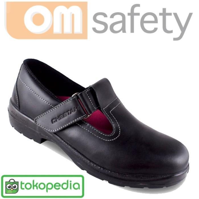 Promo Sepatu Safety Wanita CHEETAH 4008H Gratis Ongkir