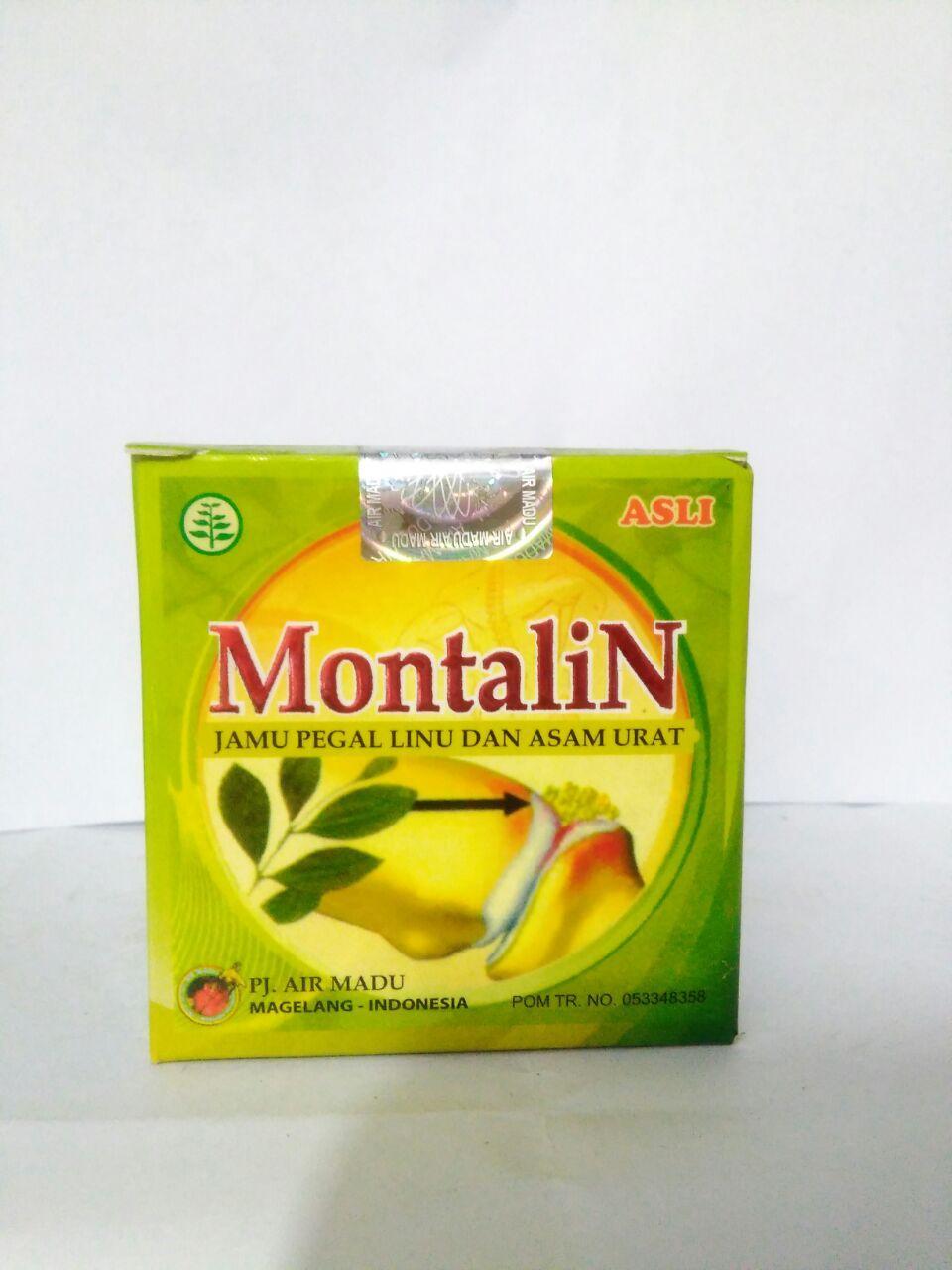 MONTALIN Jamu Pegal Linu dan Asam Urat ( Original ) PJ. AIR MADU Magelang - Indonesia