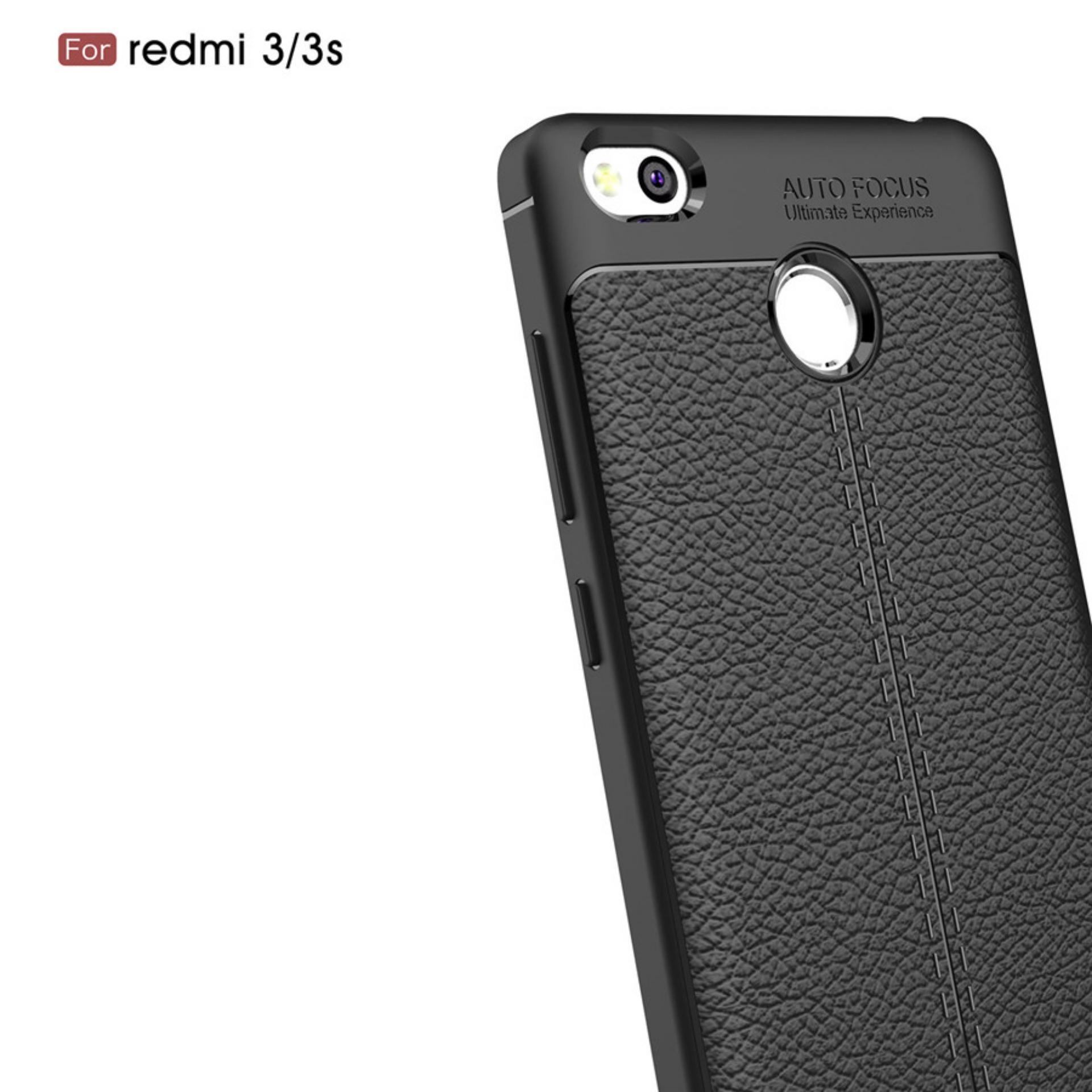 Cek Harga Baru Ambigo Premium Case Xiaomi Redmi 3 Pro 3s Luxury Casing Handphone Back Tempered Glass Series For Black Free Ultrathinblack Ultimate Autofocus Tpu Leather