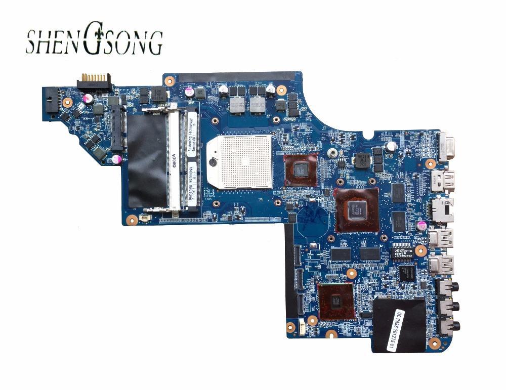 641576-001 Papan untuk HP Pavilion DV7 DV7-6000 Motherboard Laptop RS880MD Chipset HD6650/1G Diuji OK