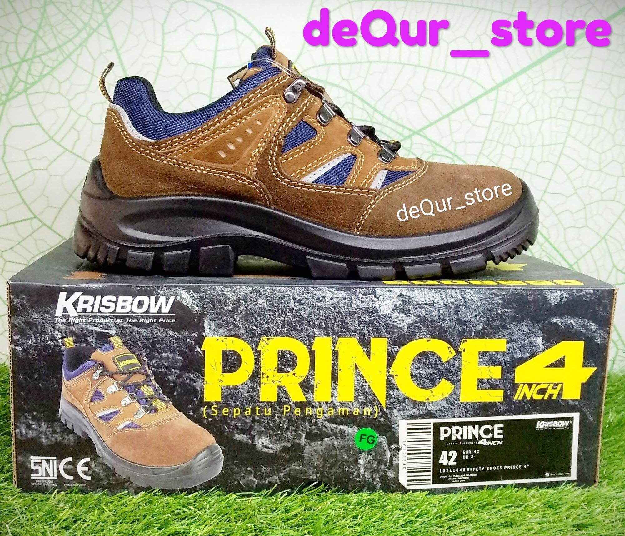Krisbow safety shoes type Prince 4 inch sepatu pengaman krisbow tipe Prince 4 inch