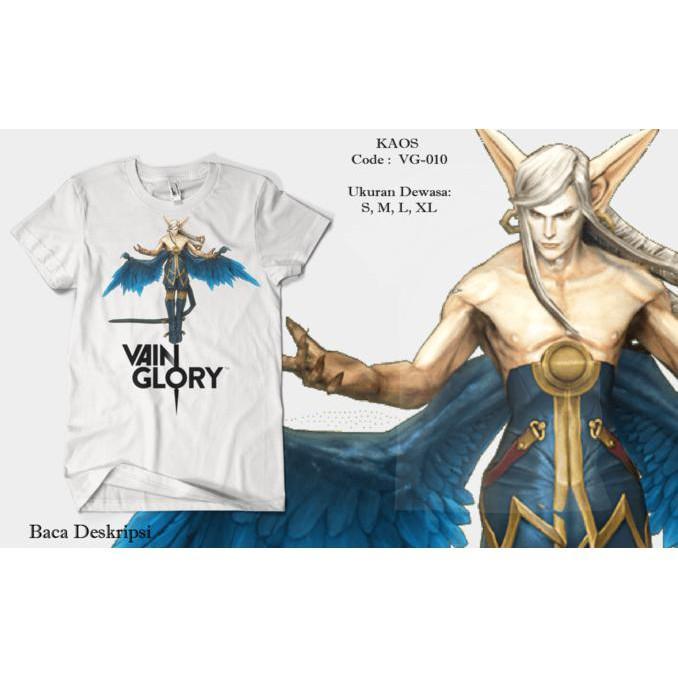 Baju / Kaos Vainglory Hero Adagio Bahan Gildan Softstyle - Sale Promo!!